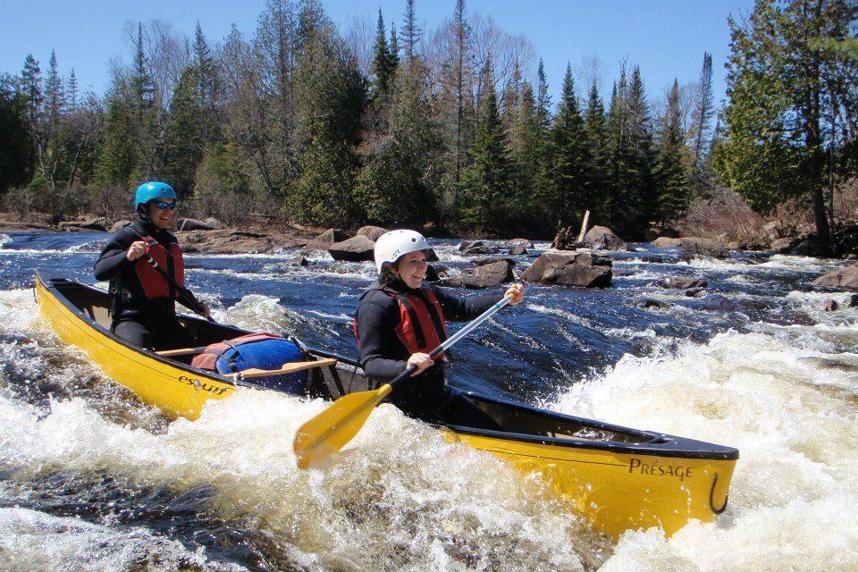 Descente de rivière guidée en canot