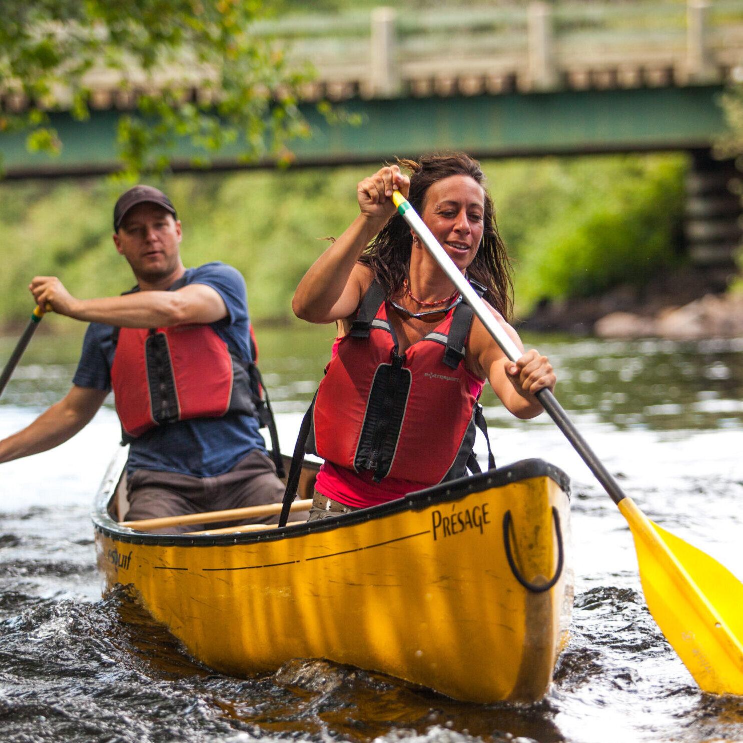 Descente de rivière autonome en canot ou kayak