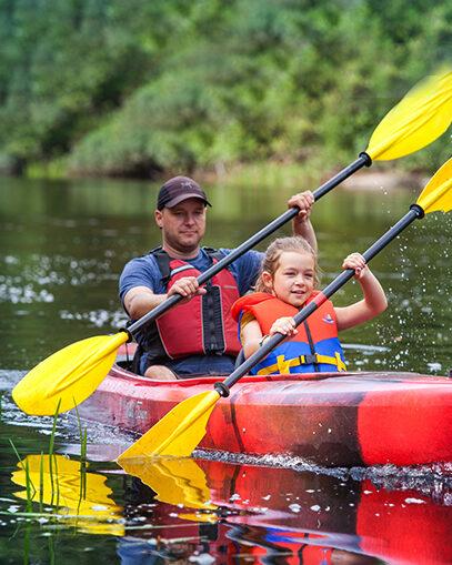 Au Canot volant - Descente autonome en canot ou kayak
